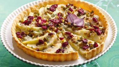 Apple and Blue Cheese Tart