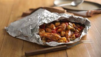 Grilled Spanish Chicken Supper