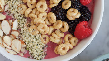 Breakfast Cereal Smoothie Bowl