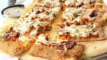 Pretzel-Crusted Pizza