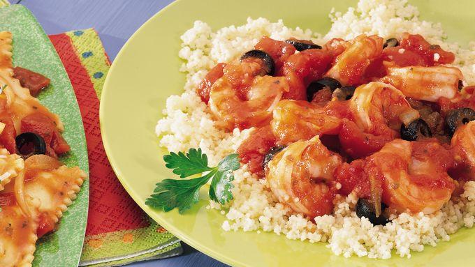 Fresh Shrimp with Couscous