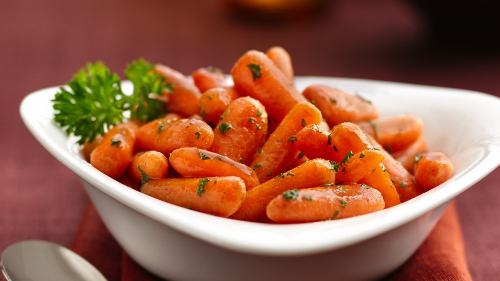 Honey-Mustard Glazed Carrots