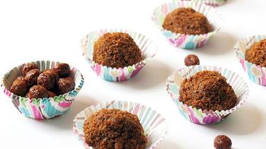 Brigadeiros de Chocolate Blanco y Cocoa Puffs™
