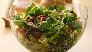 Apple, Blue Cheese and Walnut Salad