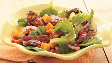 Tropical Blackened Chicken Salad