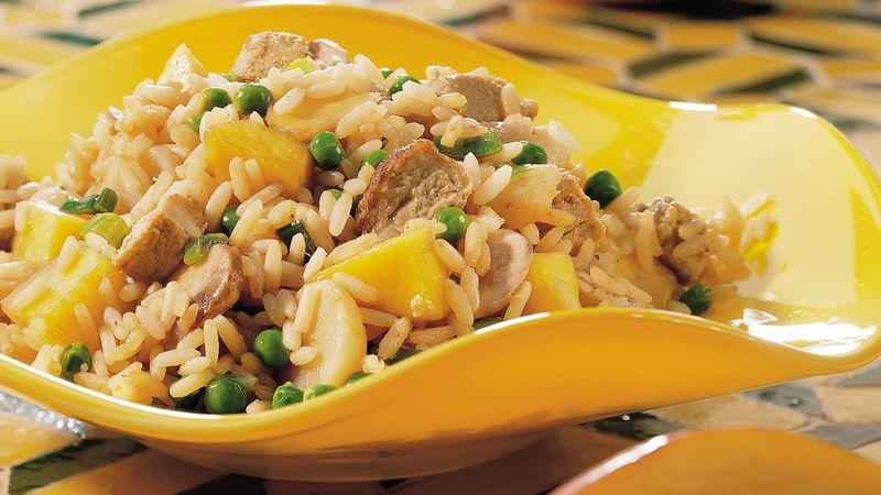 Mango-Pork Fried Rice