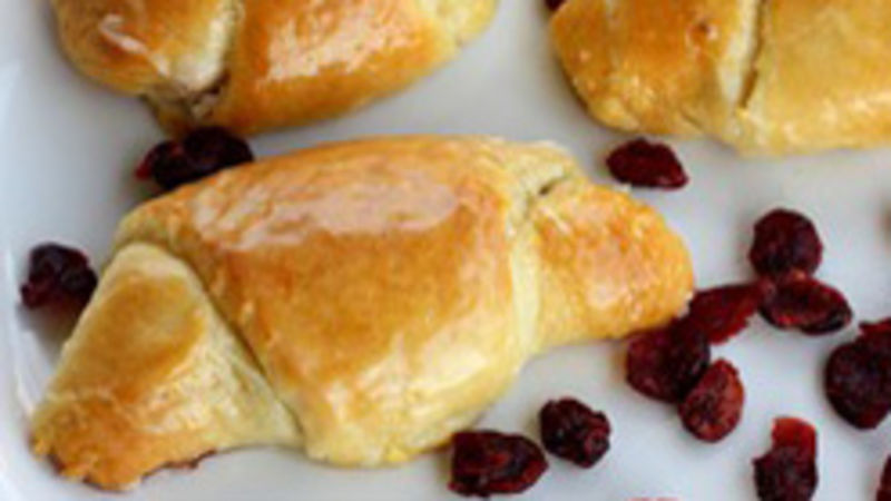 Cranberry and Orange Pecan Rollups