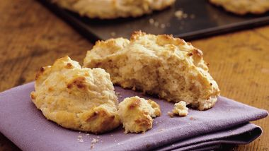 Quick French Onion Biscuits