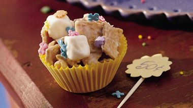 Golden Cereal-Nut Clusters
