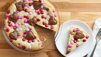 Peanut Butter M&M's™ Cookie Pie