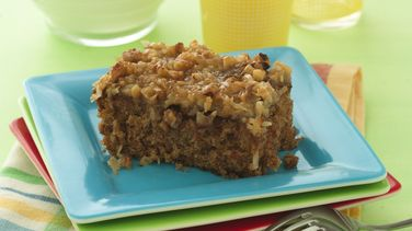 Old-Fashioned Oatmeal Cake with Broiled Topping
