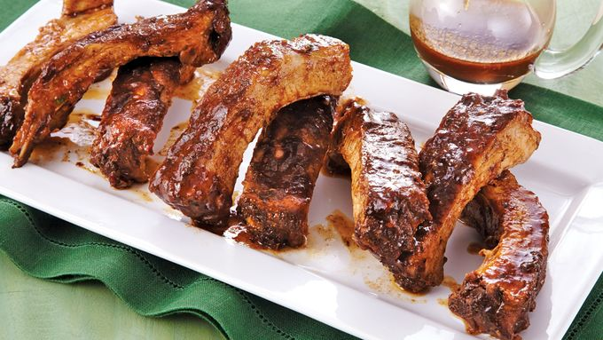 Slow-Cooker Caribbean Jerk Baby Back Ribs