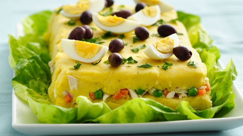 Causa Peruvian Food Recipe
