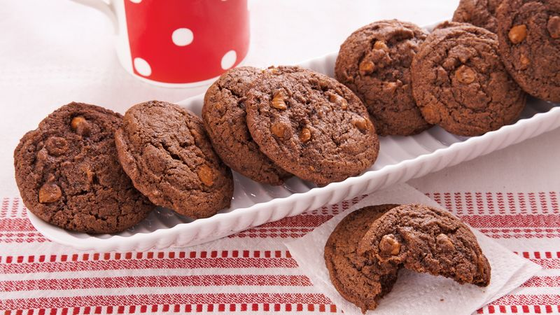 Chocolate Cappuccino Cookies