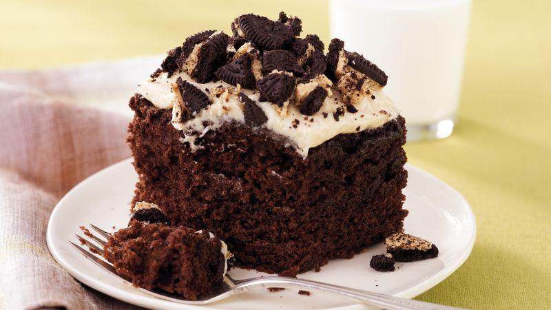 Peanut Butter-Chocolate Cake