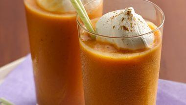 Pumpkin Pie Yogurt Smoothies