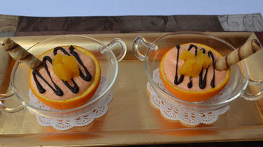 Orange and Chocolate Mousse