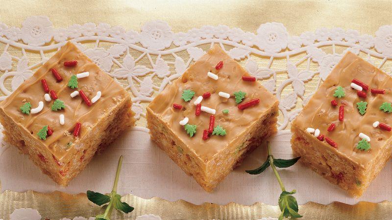 Christmas Caramel Bars