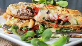 Veggie Crescent Lasagna