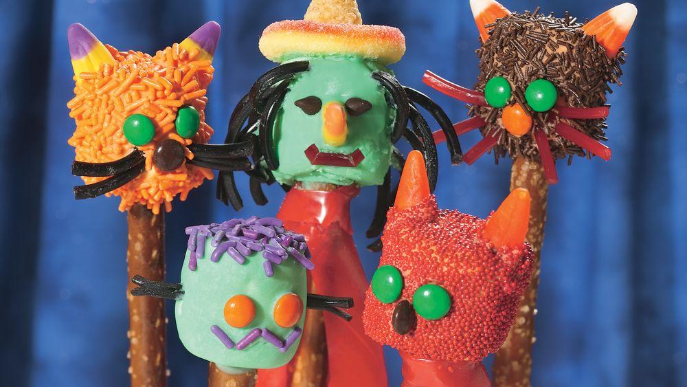 Halloween Marsh-Monsters