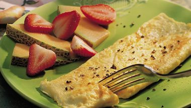 Cheese Omelet (Cooking for 2)