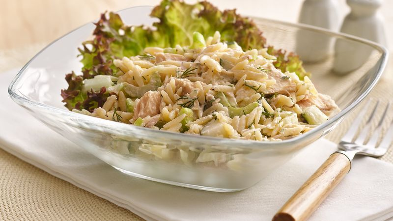 Orzo and Tuna Salad