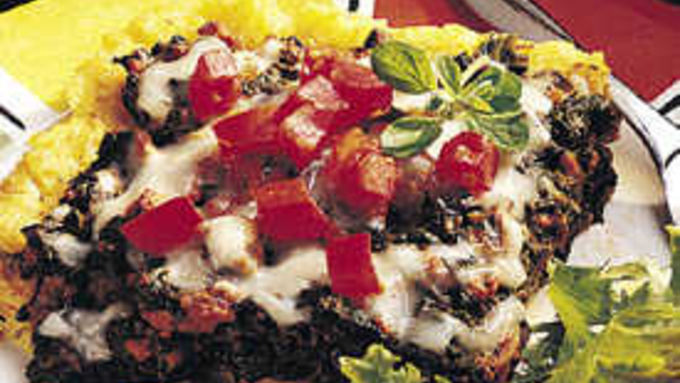 Beefy Polenta Casserole