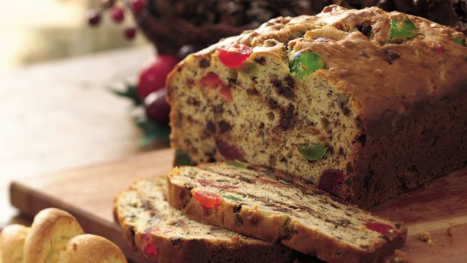 Chocolate Chip and Cherry Banana Bread