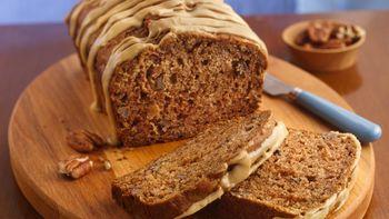 Caramel-Glazed Apple Bread