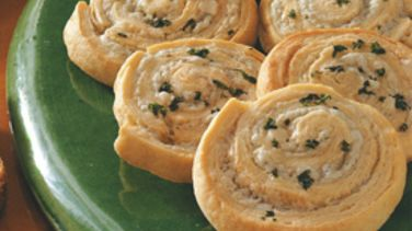 Three-Cheese Pinwheels