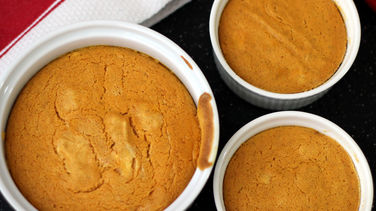 Pumpkin and Cream Cheese Soufflé