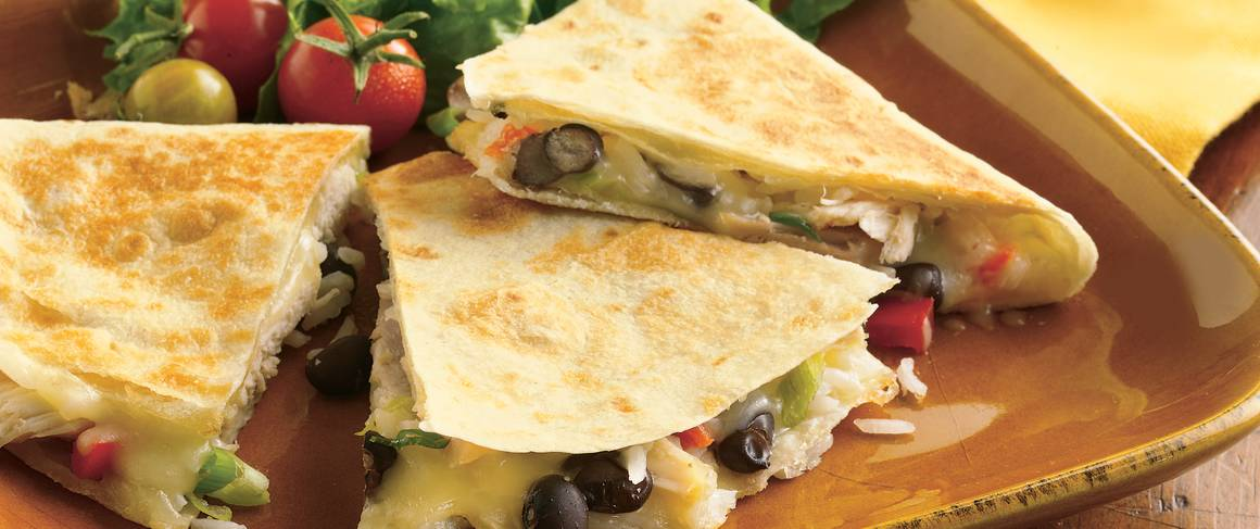 Easy chicken quesadilla recipe betty crocker