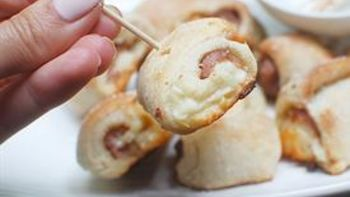 Ham and Cheese Roll-Up Bites