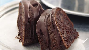 Chocolate Glazed Chocolate Cake
