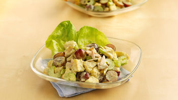 Curried Chicken and Grape Salad