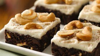 Chocolate-Cashew Brownies