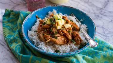 Slow-Cooker Hula Chicken