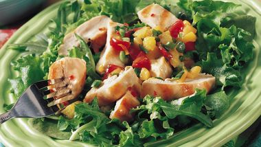 Sandy's Grilled Chicken with Fruit Salsa