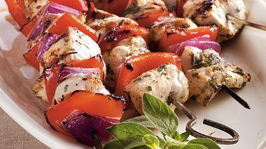Mediterranean Chicken Kabobs