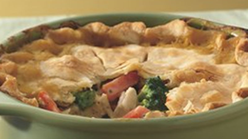 Deep-Dish Turkey Pie