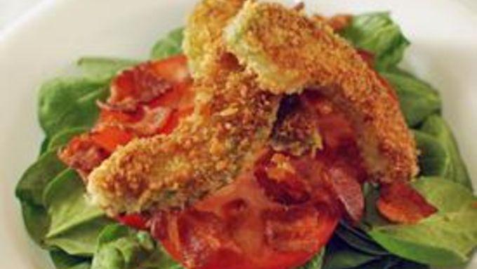 Bacon Lettuce Avocado Tomato Salad