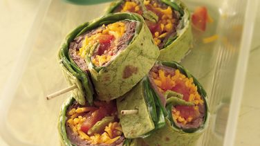Beef and Spinach Roll-Ups