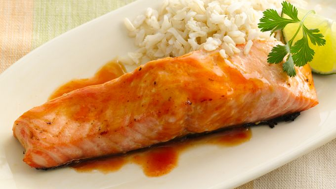 Gluten-Free Japanese Lacquered Salmon