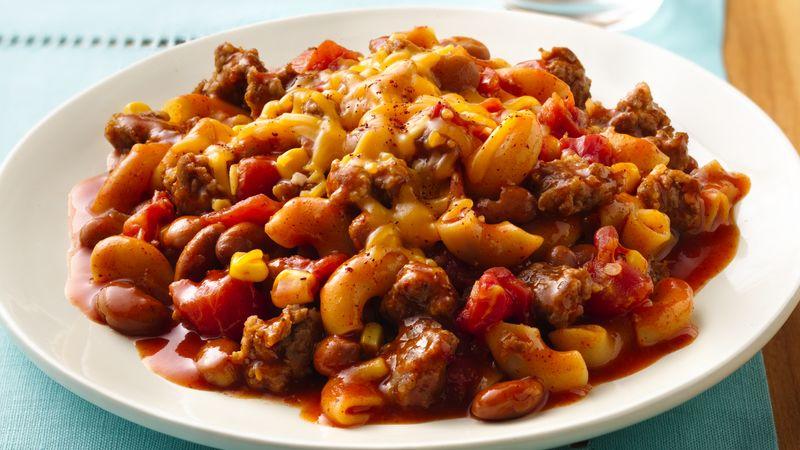 Chili Macaroni Skillet