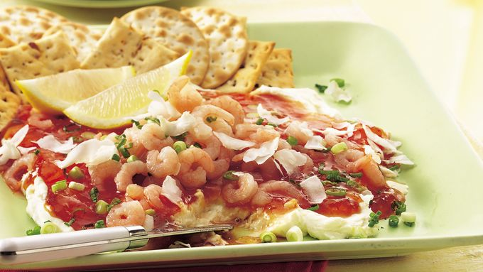 Layered Shrimp Spread