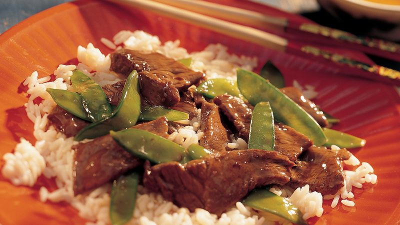 Beef with Pea Pods