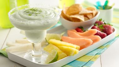 Margarita Yogurt Dip