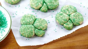 3-Ingredient Shamrock Cookies