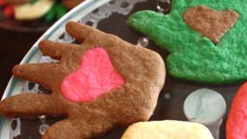 Heart in Hand Cookies