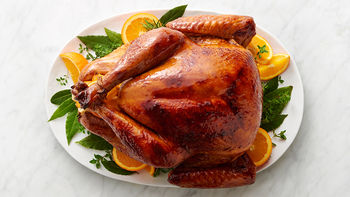 Maple-Bourbon-Brined Turkey